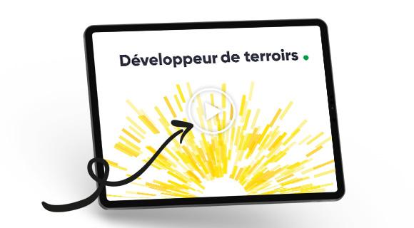 """Vidéo de présentaiton du projet d'entreprise """"Développeur de terroirs"""" du groupe Terres du Sud"""
