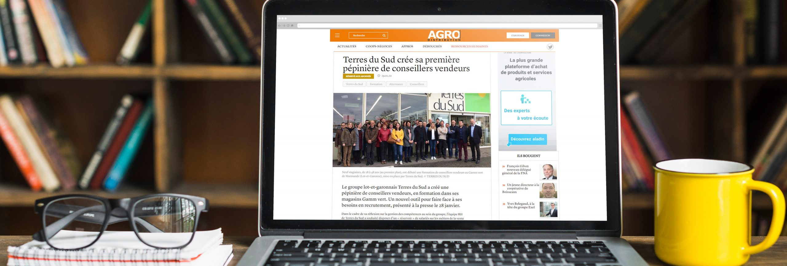 Article Agro distribution Terres du Sud