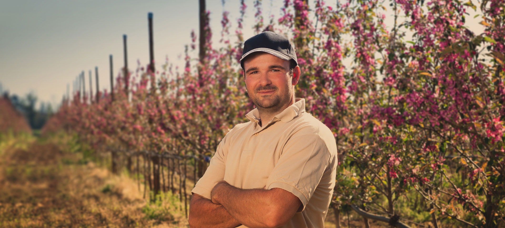 Aurélien Landeau, producteur de pommes bio pour le groupe terres du sud