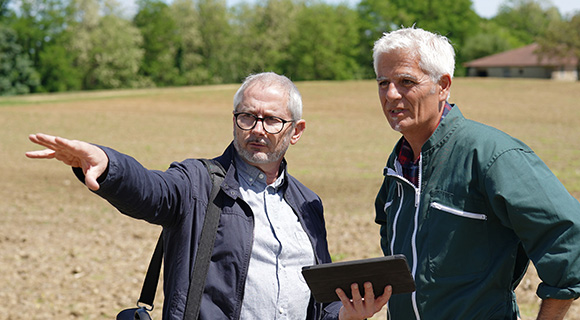 Accompagnement des agriculteurs Terres du Sud