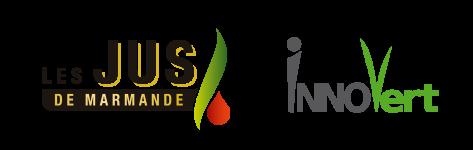 Logos Jus de Marmande et Innovert