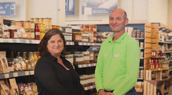 Delphine Baudet et Fabrice Bernadet, Gamm vert La Réole, Terres du Sud