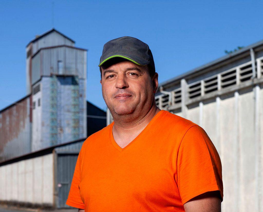 Pascal Facci responsable de silo Terres du Sud