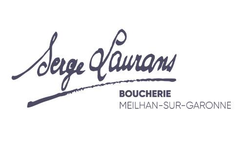 Logo boucherie serge laurans à meilhan sur garonne, groupe terres du sud