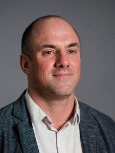 Julien Laurent, membre du bureau du groupe Terres du Sud