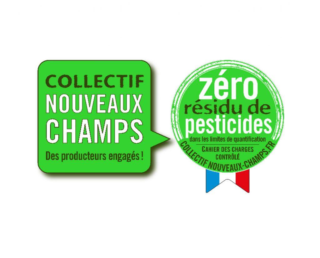 Collectif Nouveaux Champs et label Zero Residu de Pesticides